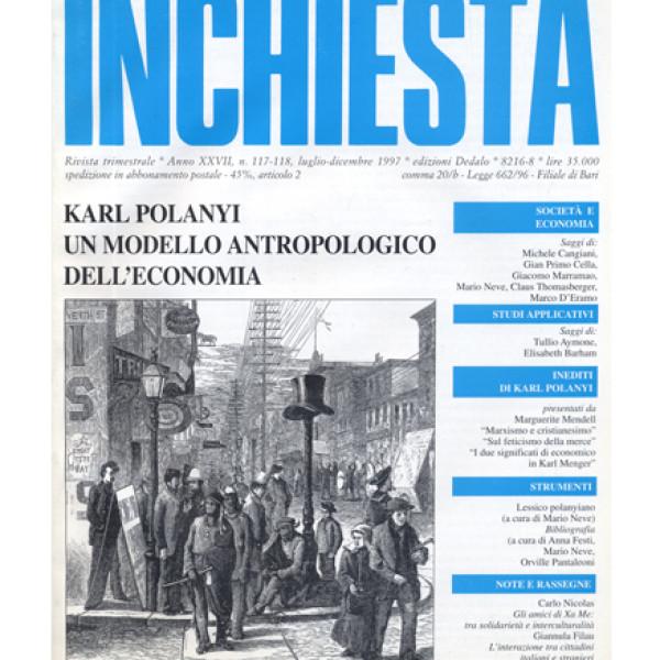 Karl Polanyi, un modello antropologico dell'economia