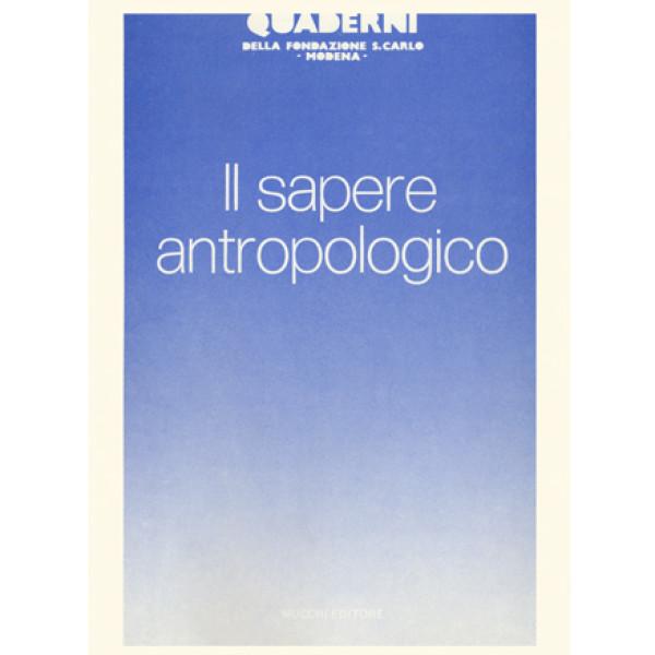 Il sapere antropologico